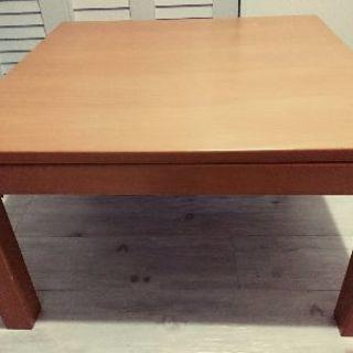 正方形こたつ/ローテーブル【無印良品】