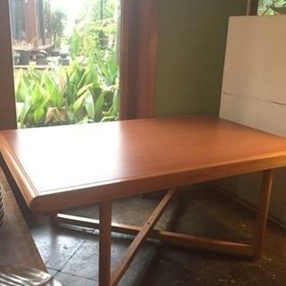 デンマーク ヴィンテージ 折りたたみ ローテーブル