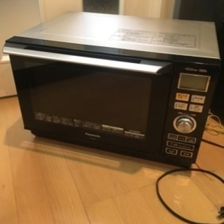 取引中【美品】Panasonic オーブン機能付き電子レンジ オー...