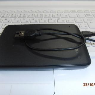 外付けHDD-500GB