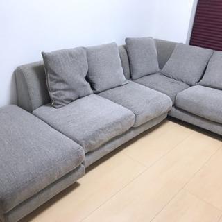 ニトリ L字型 ソファ ソファーベッド 月末まで