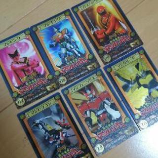 マジレンジャーカード17枚 シール1枚