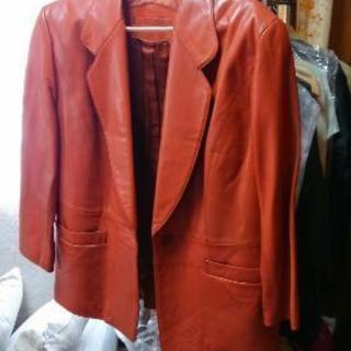羊革製ジャケット
