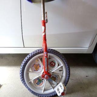一輪車◆赤xバルタン星人他◆ジャンク