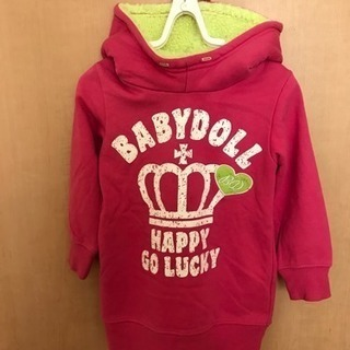 BABYDOLL  ピンクパーカー