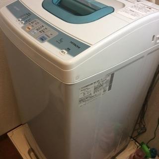 2011年式 洗濯機 5kg 〜¥8000