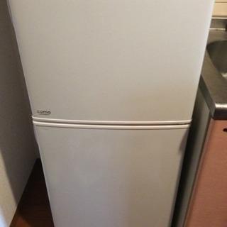 2016年式 120ℓ冷蔵庫 〜¥10,000