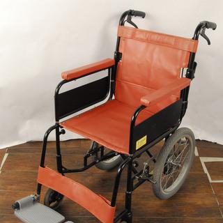 アルミ 介助用 折り畳み車椅子 SASAKI 3883