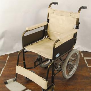 アルミ 介助用 折り畳み車椅子 SASAKI 3884