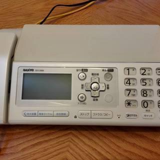 SANYOサンヨーファクシミリ 留守番機能付き電話機 SFX-D500