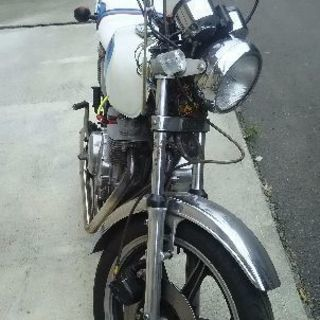 バイク売ります。委託車両gx250