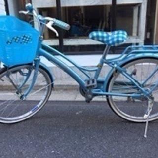 子供自転車 20インチ ブルー