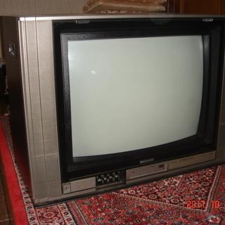ブラウン管テレビあげます