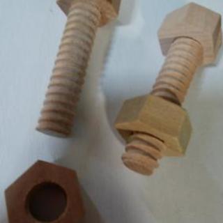 【ねじまわし】木製 知育玩具