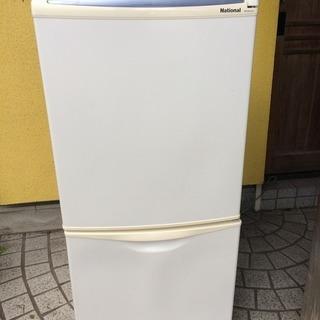 ナショナル 冷蔵庫 NR-BH124J 2006年製