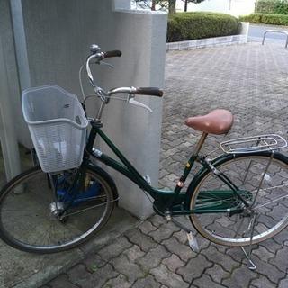 オートLEDライト付 自転車 26インチ