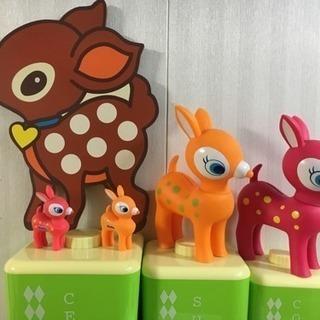 かわいい(o^^o)Bambiの置き物