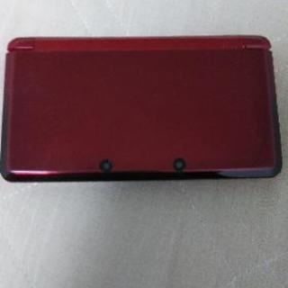 (ジャンク品)3DSレッド箱無し