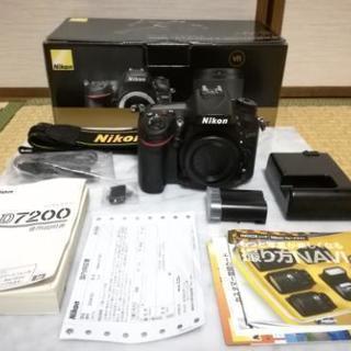 ショット数1230枚 ニコン Nikon D7200 ボディ極上美...