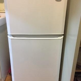 ハイアール冷蔵庫2015製106L
