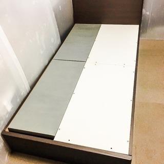 引出し付き シングルベッドフレーム LC072801