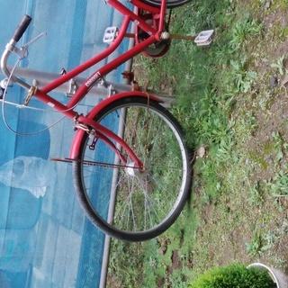赤い自転車 1000円
