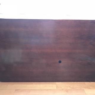 木肘ヴィンテージソファ 2脚とダイニングテーブルのソファダイニング