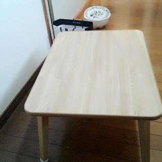 【中古】不二貿易 ローテーブル 折りたたみ ちゃぶ台 幅60×奥行...
