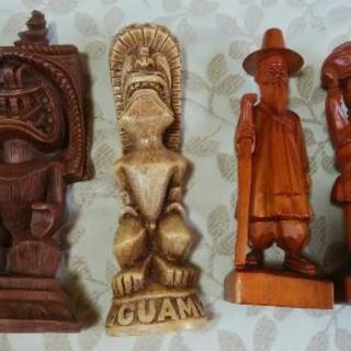 木彫り人形 セット