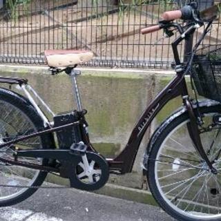 ほぼ新品 電動自転車 26インチ