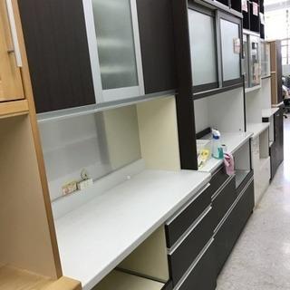 パモウナ 3面食器棚