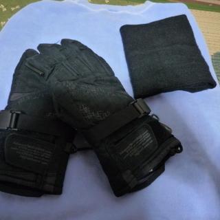 MIZUNO(ミズノ)アウトドア手袋・ネックウォーマー2点セット