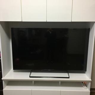 テレビ60V型液晶テレビ、テレビボード セット