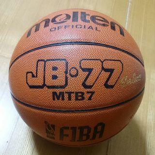 モルテンバスケットボール7号 皮革