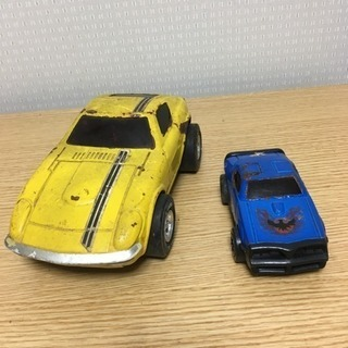Tonkaブリキ玩具  日産 フェアレディZ と ファイヤーバー...