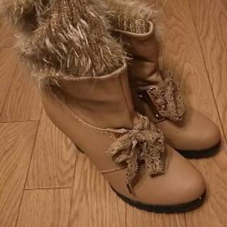履いたことない靴です。