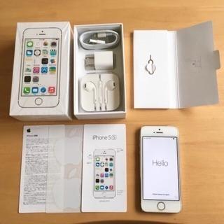 iPhone5s 16GB ゴールド softbank スマホ本体...