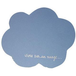 【新品】フランス製の雲の形のランチョンマットとコースターセットを破格で♪