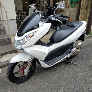 7grf4 販売終了 QJ11 PCX 125cc  社外パーツ多...
