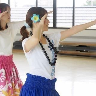 明日は鈴谷公民館でフィットネスフラ★体験¥500