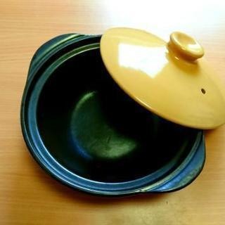 【ほぼ新品★レシピ付】22cmカレー土鍋!