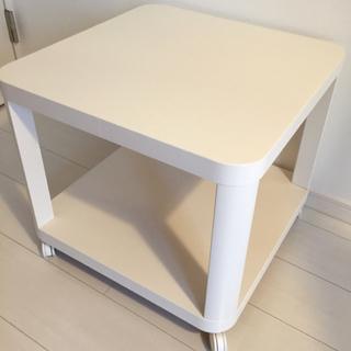 IKEA ローラー付き!サイドテーブル