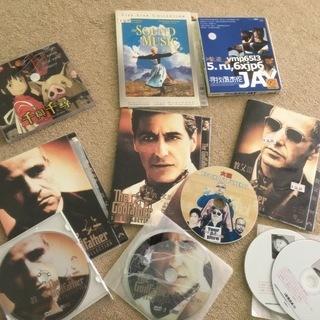 合計13枚 中国語【CD、DVD、VCD】ゴッドファーザーI、II...