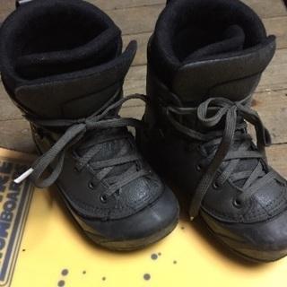 スノーボードのブーツ【子供用】❷