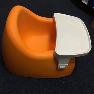 ベビーチェア カリブ オレンジ色