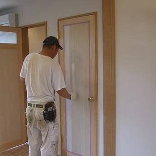 《経験者・業者様のみ》2LDKの建具・木枠の塗装作業