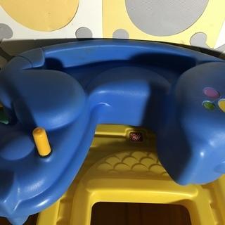 ステップ2  ロッキングホース ブルーの画像