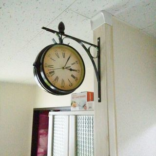 アンティーク 両面 時計 ディアウォール ラブリコ 賃貸 …