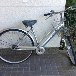 自転車27インチ パンク ジャンク
