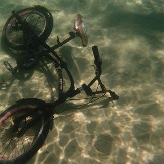 折りたたみ自転車BMX水中自転車ジャンク